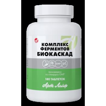 Комплекс ферментів Біокаскад 180таб
