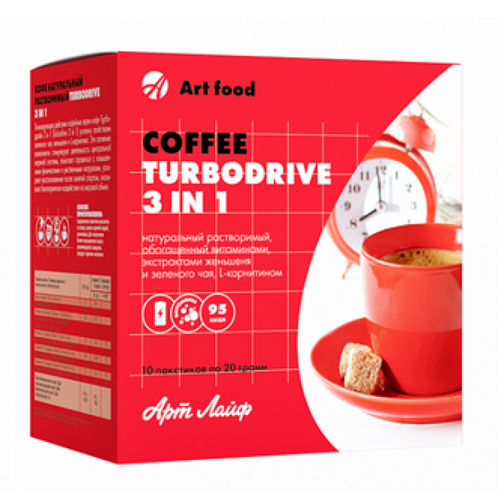 Кава TurboDrive 3in1 Фото № 1