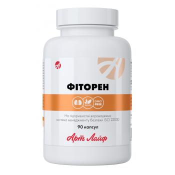 Фиторен, антисептический комплекс с мягким мочегонным эффектом 90 капс.