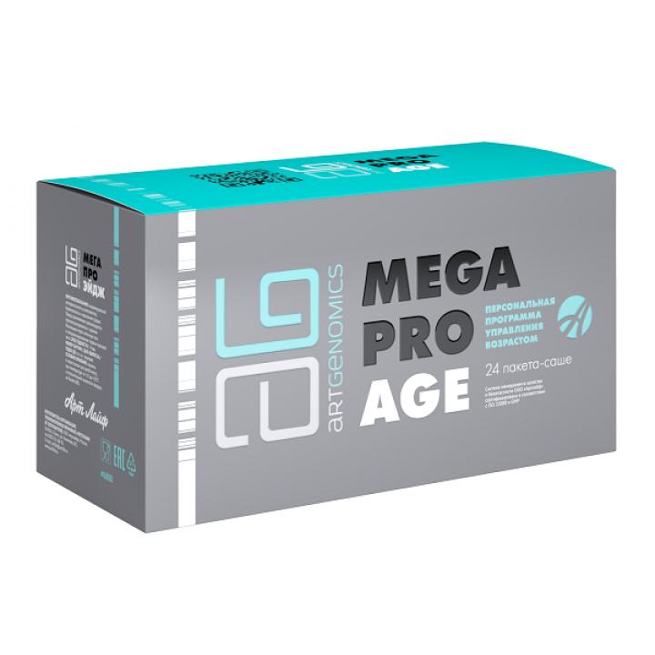 Мега Про Ейдж (Mega Pro Age), 24 пакети-саше Фото № 1